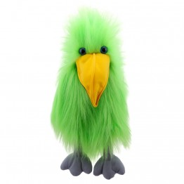 Green Bird - Hand Puppet