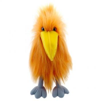 Orange Bird - Hand Puppet