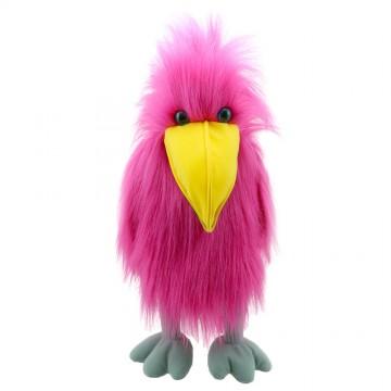 Pink Bird - Hand Puppet