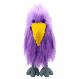 Purple Bird - Hand Puppet