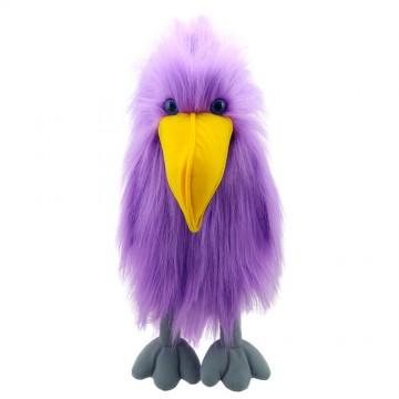 Purple Bird - Hand Puppet