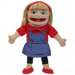 People Puppet Buddies: Small Girl (Red/Blue Outfit)