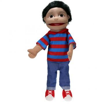 People Puppet Buddies: Medium Boy (Red/Blue Top)