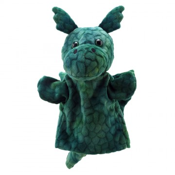 Dragon (Green) - Puppet Buddies