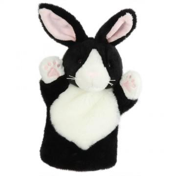 Black & White Rabbit CarPet Glove Puppet