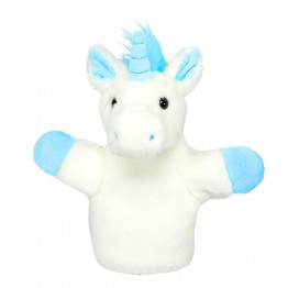 Unicorn (Blue) CarPet Glove Puppet