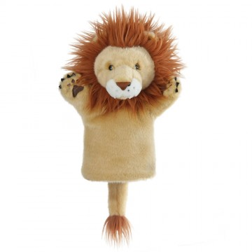 Lion CarPet Glove Puppet