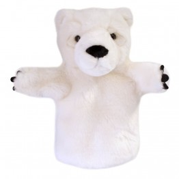 Polar Bear CarPet Hand Puppet