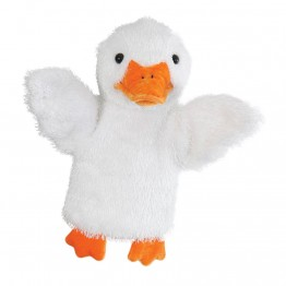 White Duck CarPet Glove Puppet
