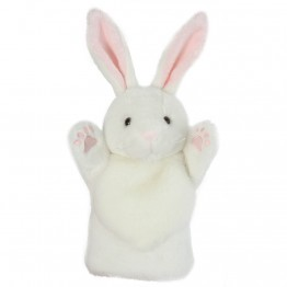 White Rabbit CarPet Glove Puppet