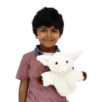 White Sheep CarPet Glove Puppet