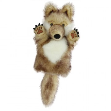 Wolf CarPet Glove Puppet