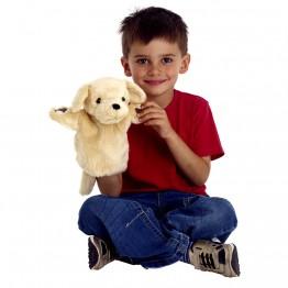 Yellow Labrador CarPet Glove Puppet