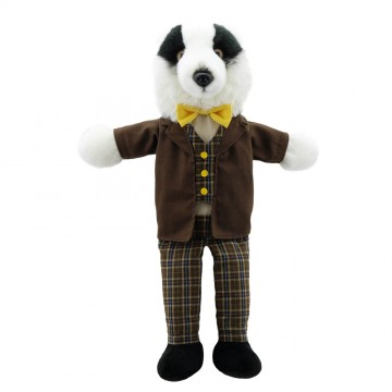 Dressed Animal Puppets: Badger
