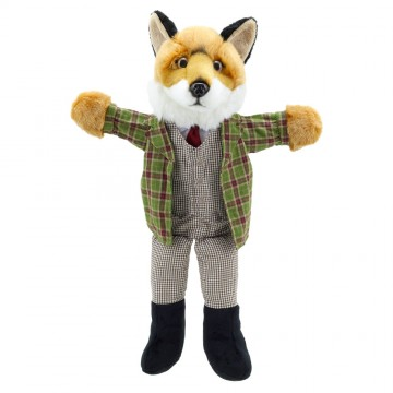 Dressed Animal Puppets: Fox