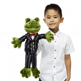 Dressed Animal Puppets: Frog