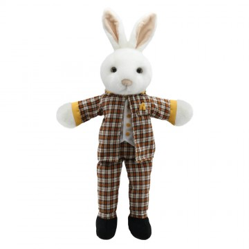 Dressed Animal Puppets: Mr Rabbit