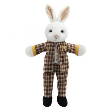 Dressed Animal Puppets: Mr Rabbit