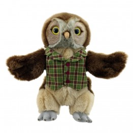 Dressed Animal Puppets: Owl