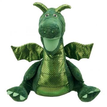 Enchanted Green Dragon Hand Puppet