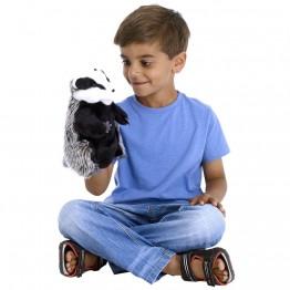 European Badger Glove Puppet