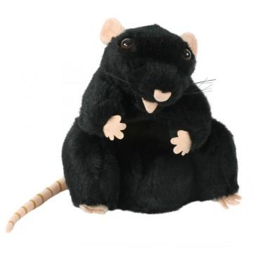 European Black Rat Glove Puppet