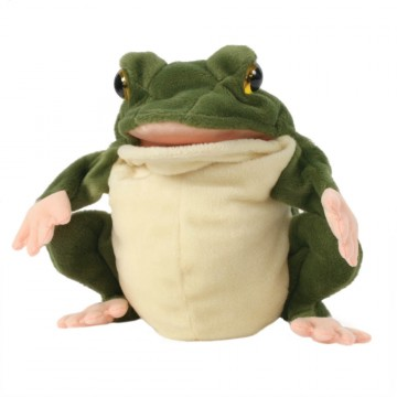 European Frog Hand Puppet