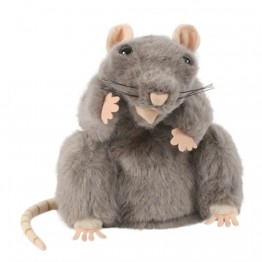 European Grey Rat Hand Puppet