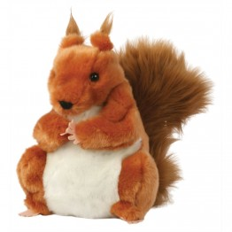 European Red Squirrel Glove Puppet