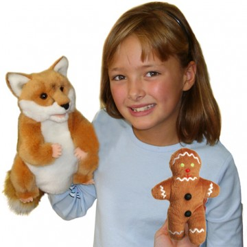 Gingerbread Man & Fox Set