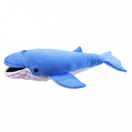 Large Finger Puppet Blue Whale