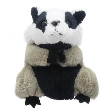 Badger Finger Puppet