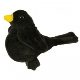 Blackbird Finger Puppet