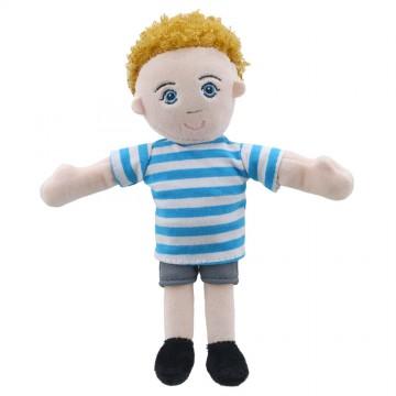 Finger Puppets: Boy (Blue/White Top)