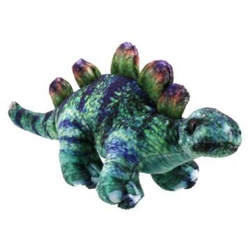 Dinosaur Finger Puppet: Stegosaurus (Green)