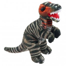 Dinosaur Finger Puppet: T-Rex (Brown)
