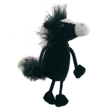 Black Horse Finger Puppet