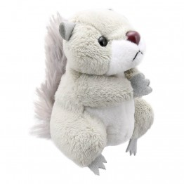Grey Squirrel Finger Puppet