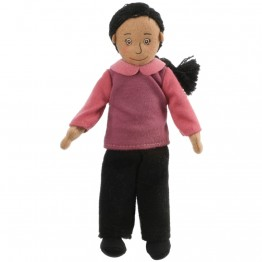 Mum (Medium Skin) Finger Puppet