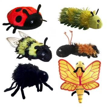 Mini Beasts Finger Puppet Set
