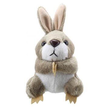 Grey Rabbit Finger Puppet