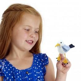 Seagull Finger Puppet
