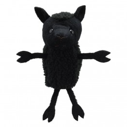 Black Sheep Finger Puppet