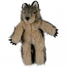 Wolf Walking Finger Puppet