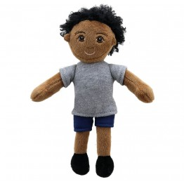 Boy (Dark Skin Tone) Finger Puppet