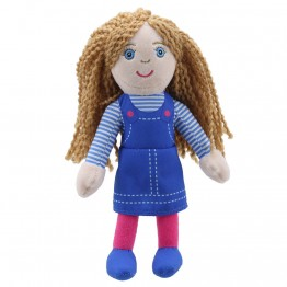 Girl (Light Skin Tone) Finger Puppet