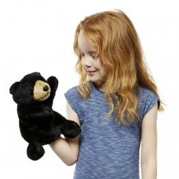 Full-Bodied Animal Puppet: Black Bear