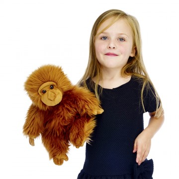 Full-Bodied Animal Puppet: Orangutan