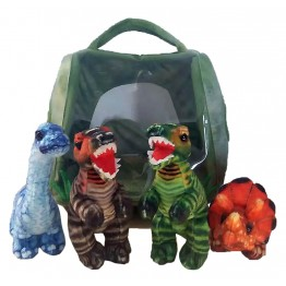 Hide Away Puppets: Dinosaur House
