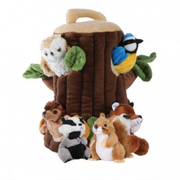 Tree House Finger Puppet Play Set
